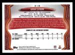 2013 Topps #318  Adrian Clayborn  Back Thumbnail