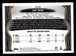 2013 Topps #330  Jimmy Graham  Back Thumbnail