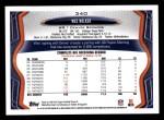2013 Topps #340  Wes Welker  Back Thumbnail