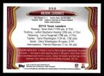 2013 Topps #352   Arizona Cardinals-FB Team Back Thumbnail