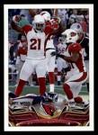 2013 Topps #352   Arizona Cardinals-FB Team Front Thumbnail
