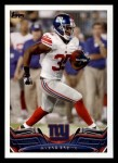 2013 Topps #354  Andre Brown  Front Thumbnail