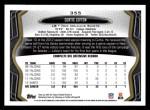 2013 Topps #355  Curtis Lofton  Back Thumbnail