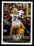 2013 Topps #361   Green Bay Packers Team Front Thumbnail