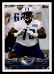 2013 Topps #379  Chance Warmack   Front Thumbnail