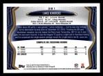 2013 Topps #381  Lance Kendricks  Back Thumbnail