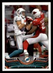 2013 Topps #382  Brian Hartline  Front Thumbnail