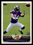 2013 Topps #386  Cordarrelle Patterson   Front Thumbnail