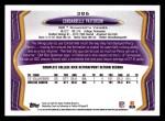 2013 Topps #386  Cordarrelle Patterson   Back Thumbnail