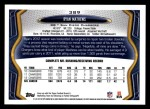 2013 Topps #389  Ryan Mathews  Back Thumbnail