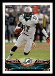 2013 Topps #393  Mike Wallace  Front Thumbnail
