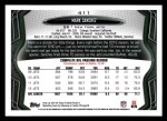 2013 Topps #411  Mark Sanchez  Back Thumbnail