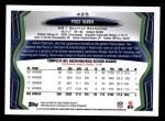 2013 Topps #425  Percy Harvin  Back Thumbnail