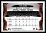 2013 Topps #427  Michael Johnson  Back Thumbnail