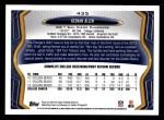 2013 Topps #435  Keenan Allen   Back Thumbnail