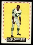 1964 Topps #129  Clyde Washington  Front Thumbnail
