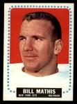 1964 Topps #120  Bill Mathis  Front Thumbnail