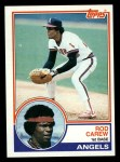 1983 Topps #200  Rod Carew  Front Thumbnail