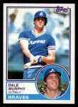 1983 Topps #760  Dale Murphy  Front Thumbnail