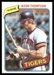 1980 Topps #150  Jason Thompson  Front Thumbnail