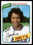 1980 Topps #633  Bob Apodaca  Front Thumbnail
