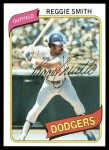 1980 Topps #695  Reggie Smith  Front Thumbnail