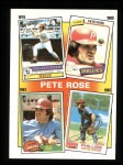 1986 Topps #6   -  Pete Rose Rose Special: 79-82 Front Thumbnail