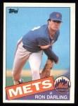 1985 Topps #415  Ron Darling  Front Thumbnail