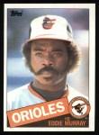 1985 Topps #700  Eddie Murray  Front Thumbnail
