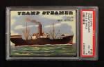 1955 Topps Rails & Sails #165   Tramp Steamer Front Thumbnail