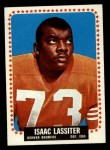 1964 Topps #51  Isaac Lassiter  Front Thumbnail