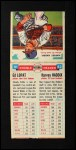 1955 Topps Double Header #41 #42 Eddie lopat / Harvey Haddix  Back Thumbnail