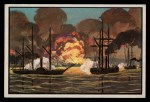 1954 Bowman U.S. Navy Victories #4   Bombardment of Vera Cruz Front Thumbnail