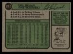 1974 Topps #280  Carl Yastrzemski  Back Thumbnail