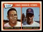 1965 Topps #549   -  Glenn Beckert / Roberto Pena Cubs Rookies Front Thumbnail