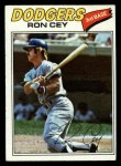1977 Topps #50  Ron Cey  Front Thumbnail