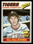 1977 Topps #265  Mark Fidrych  Front Thumbnail