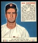 1952 Red Man #17 AL Bob Porterfield  Front Thumbnail