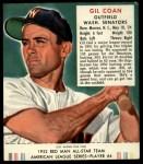 1952 Red Man #4 AL Gil Coan  Front Thumbnail