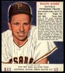 1952 Red Man #12 NL Ralph Kiner  Front Thumbnail
