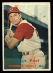 1957 Topps #157  Wally Post  Front Thumbnail