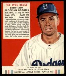 1952 Red Man #17 NL Pee Wee Reese  Front Thumbnail
