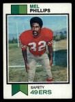1973 Topps #122  Mel Phillips  Front Thumbnail