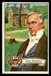 1956 Topps U.S. Presidents #18  James Buchanan  Front Thumbnail