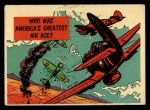 1957 Topps Isolation Booth #47   America's Greatest Air Ace Front Thumbnail