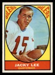 1967 Topps #46  Jacky Lee  Front Thumbnail