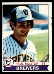 1979 Topps #24  Paul Molitor  Front Thumbnail