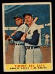 1958 Topps #304   -  Al Kaline / Harvey Kuenn Tigers' Big Bats Front Thumbnail