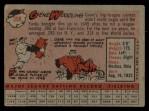 1958 Topps #398  Gene Woodling  Back Thumbnail