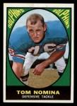 1967 Topps #86  Tom Nomina  Front Thumbnail